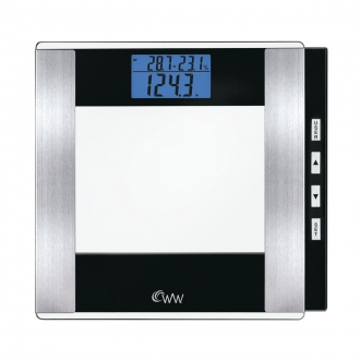 WW by Conair Glass Body Analysis Scale